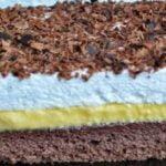 Prăjitură cu cremă de vanilie – foarte cremoasă și arată minunat. Este ideala pentru sarbatori